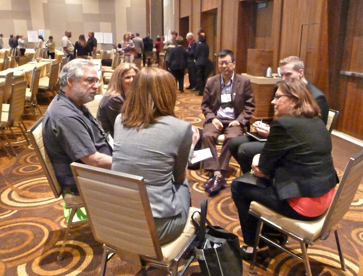 Small Group Facilitation, Photo by Deb Nystrom (CC BY 2.0)