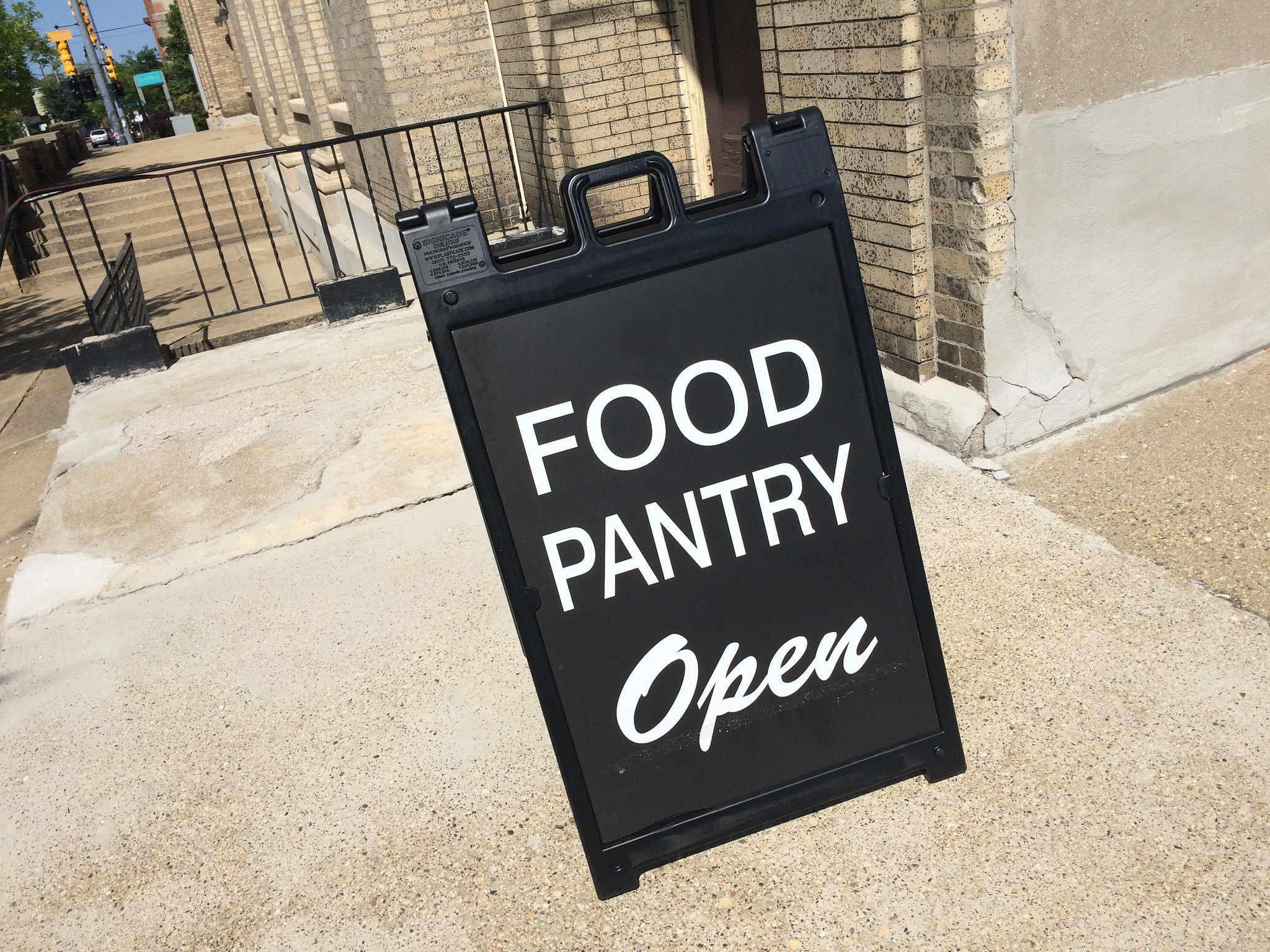 Food Pantry Open Church Grand Rapids Michigan - Photo by Steven Depolo (CC BY 2.0)