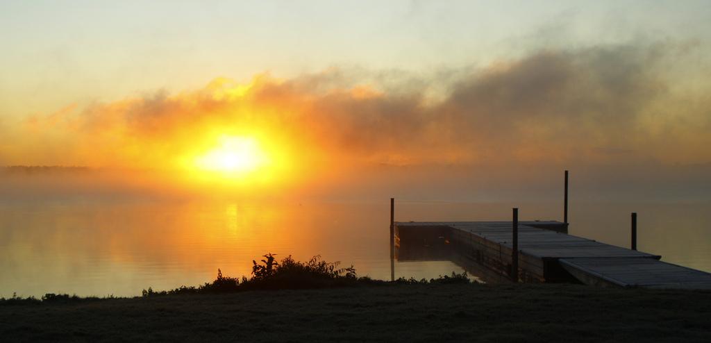 A magnificent sunrise over Lake Bemidji, Minnesota. Photo by Craig Myran (CC BY-ND 2.0)