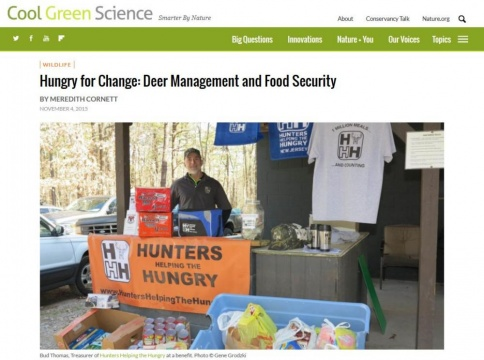 Cool Green Science Web Page - Hungry for Change