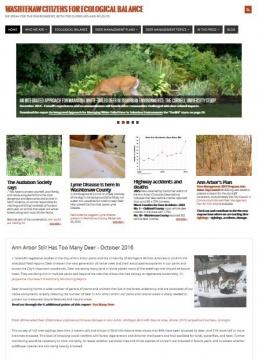 Washtentaw Citizens for Ecological Balance Website