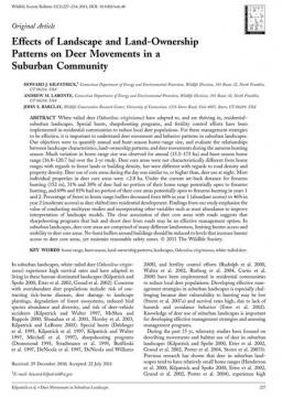 Kilpatrick et al WSB 2011