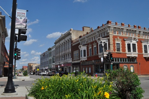 Downtown Leavenworth Kansas-Photo by Melissa Bown (CC BY-SA 4.0)