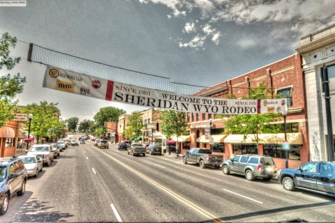 Google Street View - Pan-American Trek - Welcome to the Sheridan Wyoming Rodeo